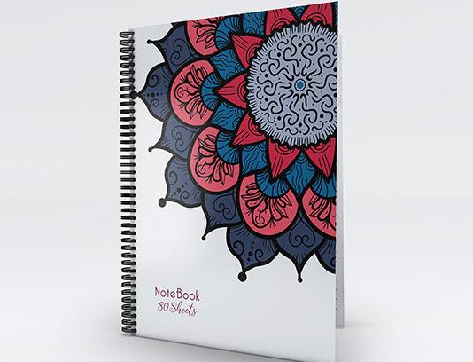 طرح جلد دفتر ماندالا