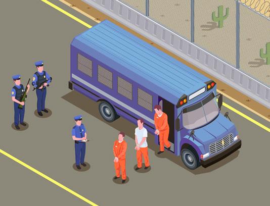 وکتور ایزومتریک زندان