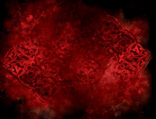 تکسچر موتیف گرانج قرمز