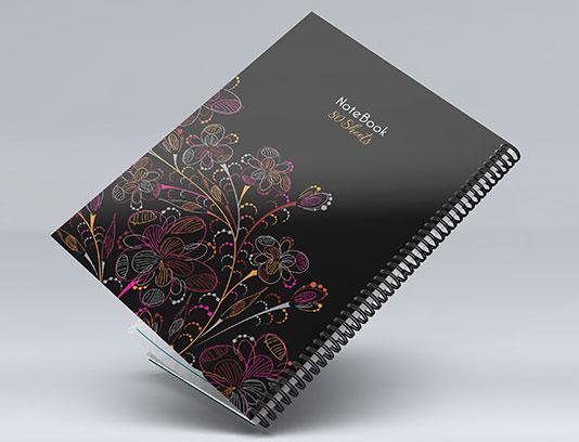 جلد دفتر لایه باز فانتزی