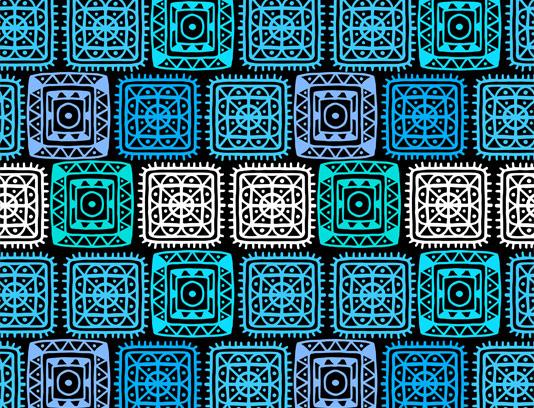 وکتور پترن مربع های آبی