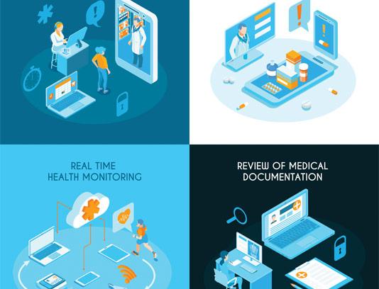 وکتور پزشکی دیجیتال