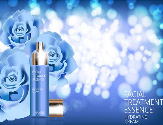طرح تبلیغاتی محصولات آرایشی