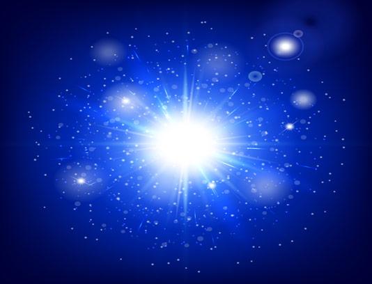 وکتور بکگراند نور درخشان