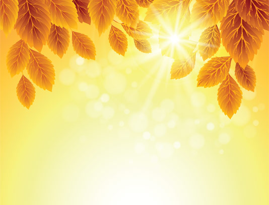 وکتور پس زمینه فصل پاییزی