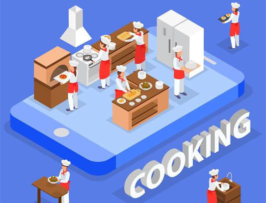 وکتور آشپزی و رستوران داری
