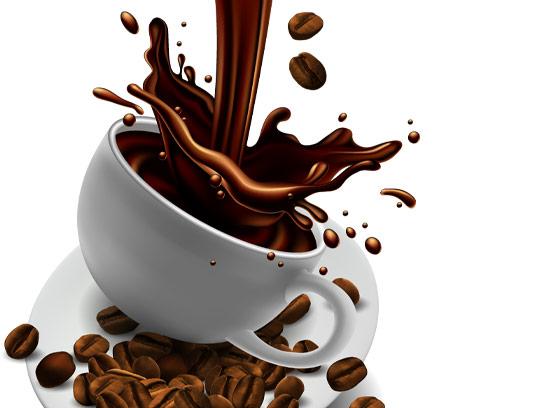 وکتور یک فنجان قهوه خالص