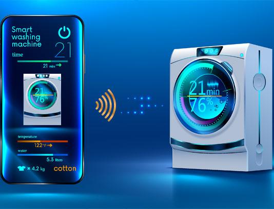 وکتور ماشین لباسشویی هوشمند