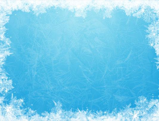 تکسچر بکگراند آبی با بولر های یخ