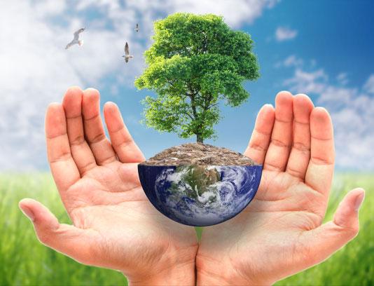 عکس مفهومی حفاظت از محیط زیست