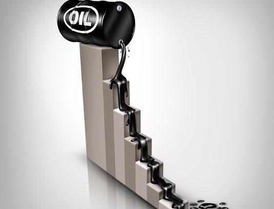 عکس سقوط قیمت نفت