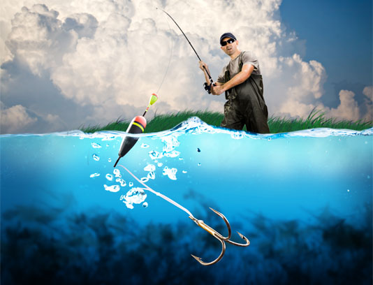 عکس ماهی گیری حرفه ای