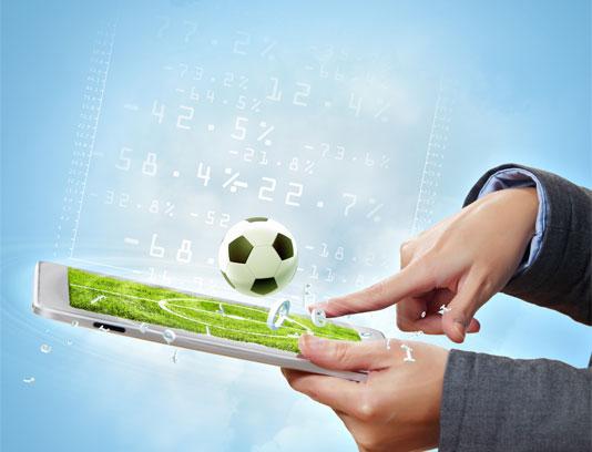 عکس بازی فوتبال آنلاین