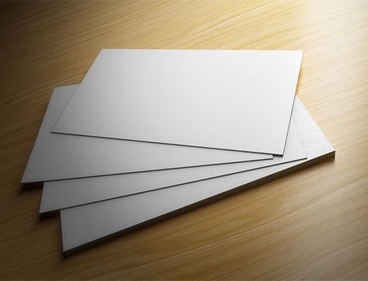 موکاپ کارت ویزیت خلاقانه