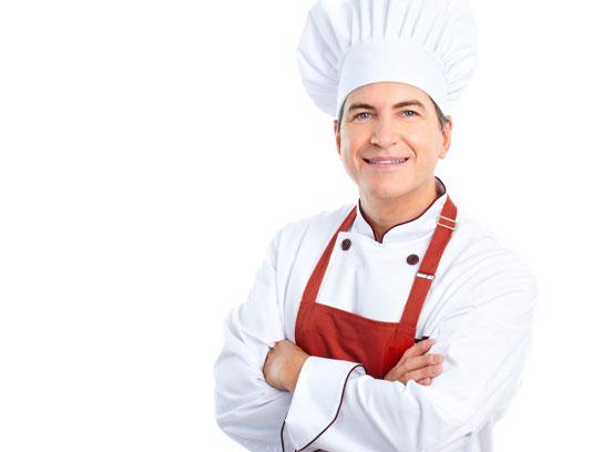 عکس مرد سرآشپز