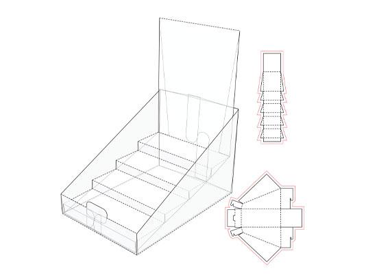 وکتور بسته بندی جعبه ارائه محصول