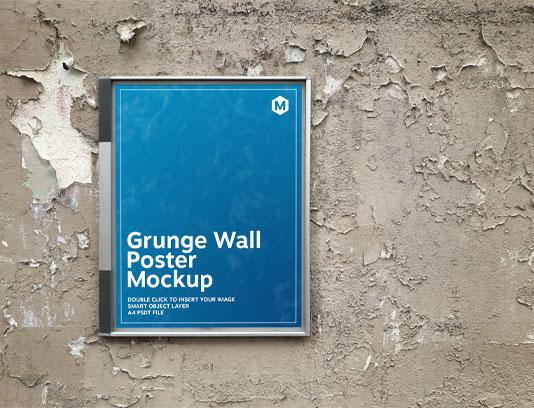 موکاپ پوستر دیواری