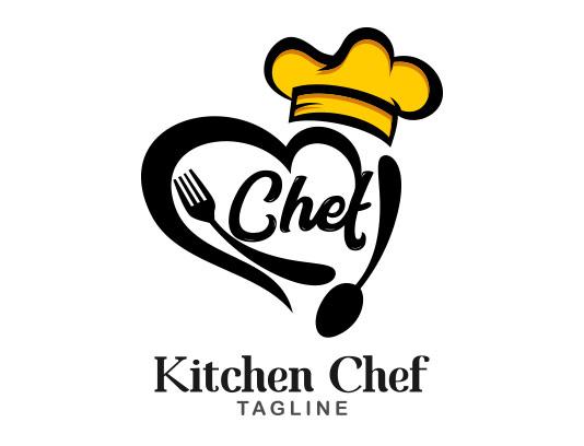لوگو سرآشپز با کیفیت عالی