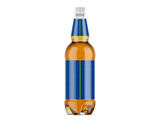 موکاپ بطری دلستر پلاستیکی