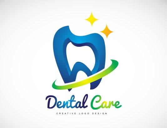 وکتور لوگو مراقبت از دندان