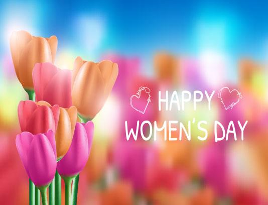 وکتور روز زن مبارک