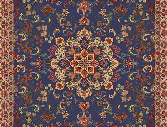 عکس نقش و نگار فرش ایرانی