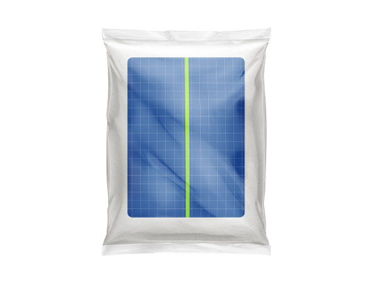 موکاپ بسته بندی پلاستیکی شفاف
