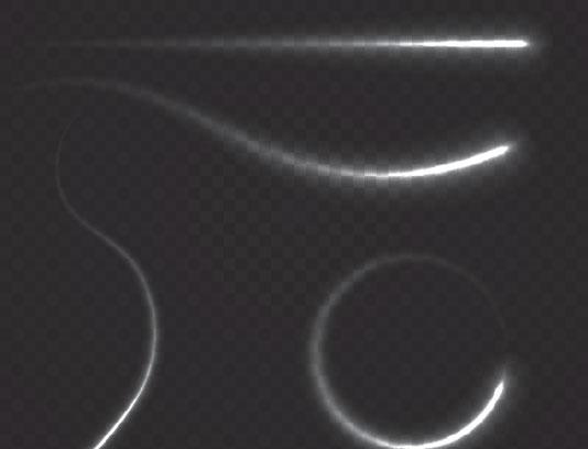 وکتور افکت های منحنی