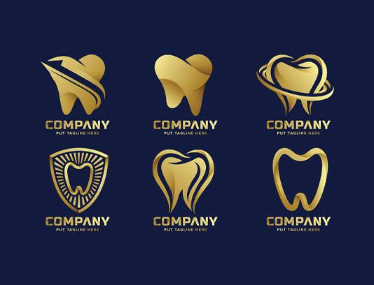 وکتور لوگو های دندانپزشکی
