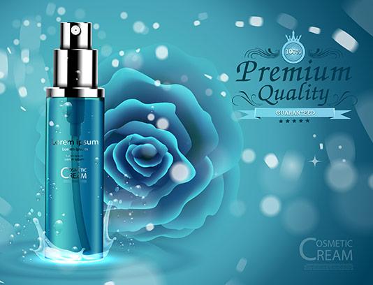 وکتور محصولات مراقبت پوستی