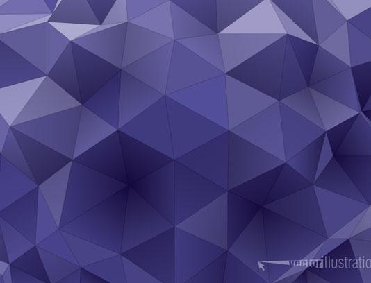 بک گراند مثلثی بنفش