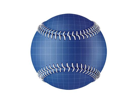 موکاپ توپ بیس بال با کیفیت