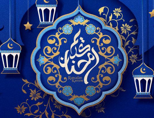 طرح بکگراند اسلامی ماه رمضان