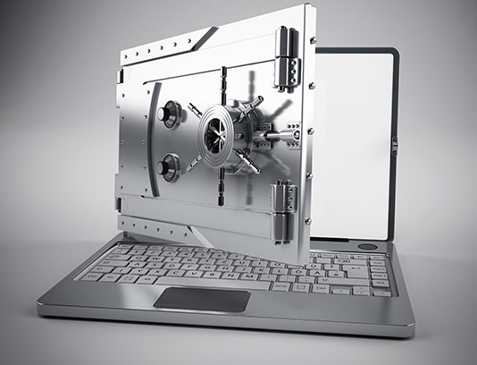 عکس با کیفیت امنیت لپ تاپ