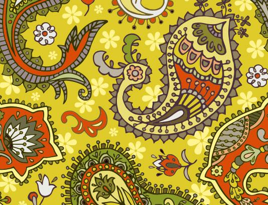 طرح پس زمینه بته جغه و سنتی