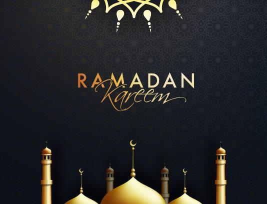 طرح پس زمینه ماه رمضان کریم