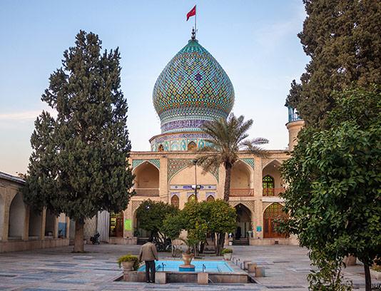 عکس مقبره علی بن حمزه