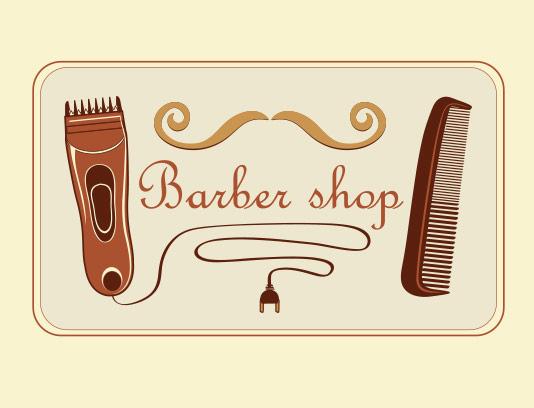 وکتور لوگو طرح آرایشگاه مردانه