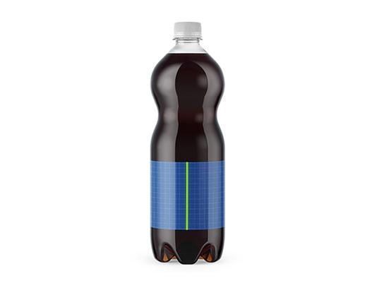 موکاپ بطری نوشابه مشکی