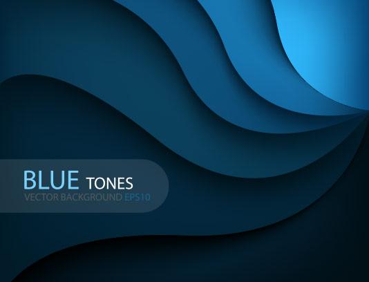 وکتور پس زمینه طیف رنگی آبی