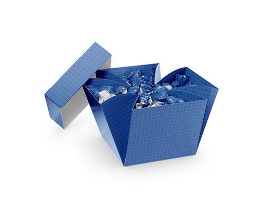 موکاپ جعبه شکلات و آبنبات