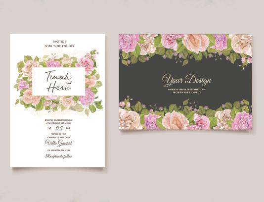 طرح کارت دعوت عروسی خلاقانه