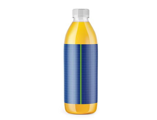موکاپ بطری آبمیوه بزرگ