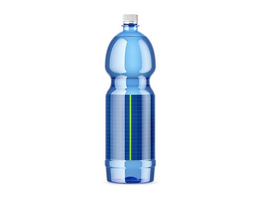 موکاپ بطری آب معدنی بزرگ