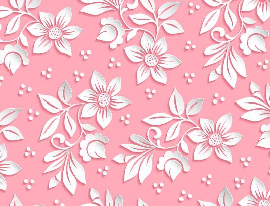 وکتور پس زمینه گل های کاغذی