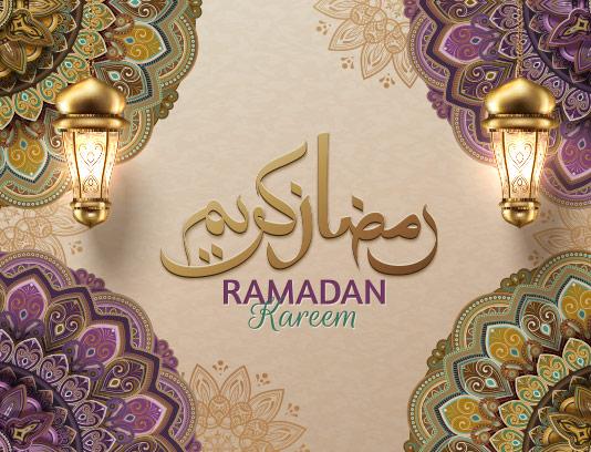 طرح رمضان کریم با کیفیت