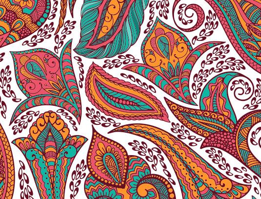 طرح بکگراند سنتی رنگی