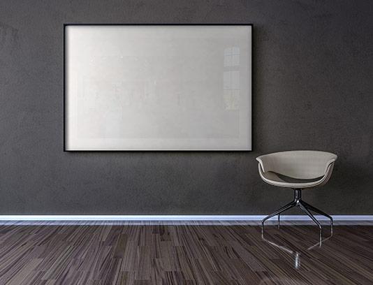 موکاپ تابلو دیواری با کیفیت