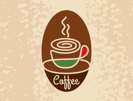 وکتور لوگو کافه شاپ خلاقانه