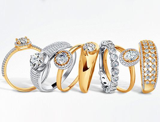 عکس انواع حلقه های نامزدی
